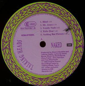 Talking Heads: Naked (LP) - Bild 2