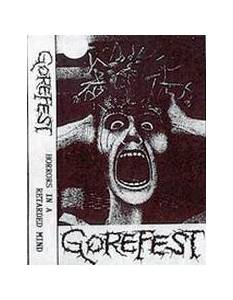 Cover - Gorefest: Horrors In A Retarded Mind