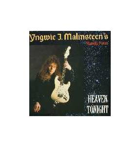 Yngwie J. Malmsteen's Rising Force: Heaven Tonight - Cover