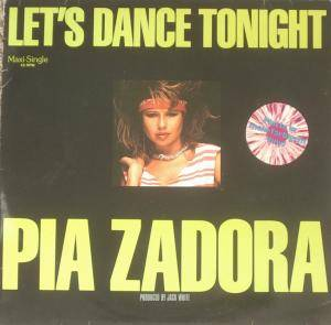 Cover - Pia Zadora: Let's Dance Tonight