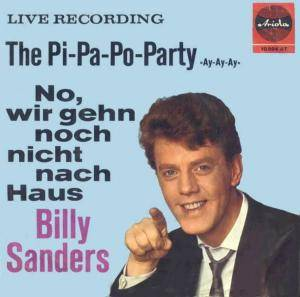 Cover - Billy Sanders: Pi-Pa-Po-Party, The