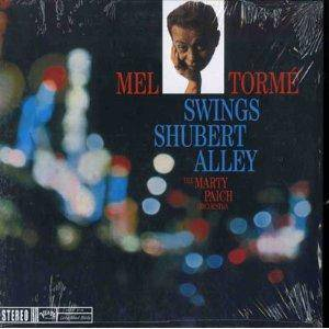 Cover - Mel Tormé: Swings Shubert Alley - The Marty Paich Orchestra