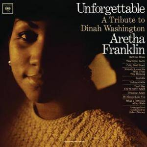 Cover - Aretha Franklin: Unforgettable - A Tribute To Dinah Washington