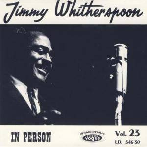 Cover - Jimmy Witherspoon: In Person
