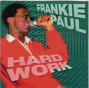 Cover - Frankie Paul: Hard Work