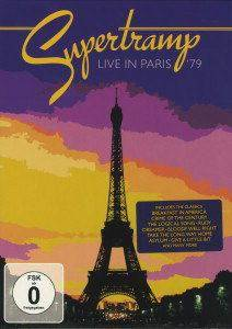 Supertramp: Live In Paris '79 - Cover