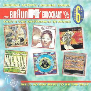 Cover - Kadoc: Braun MTV Eurochart '96 Vol. 6, The
