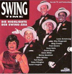 Cover - Gene Kelly & The Pete Moore Orchestra: Swing Time - Die Highlights Der Swing-Ära