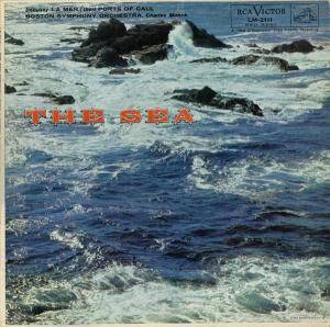 Cover - Jacques Ibert: Sea, The
