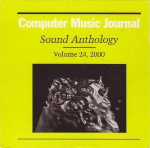 Cover - *0: Computer Music Journal Sound Anthology Volume 24, 2000