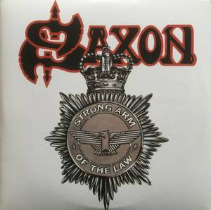 Cover - Saxon: Strong Arm Of The Law