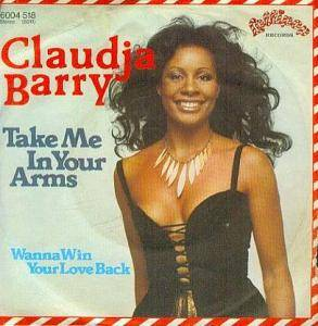 Cover - Claudja Barry: Take Me In Your Arms