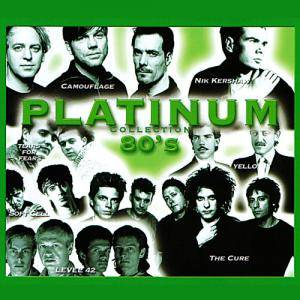 Platinum Collection 80s - Cover