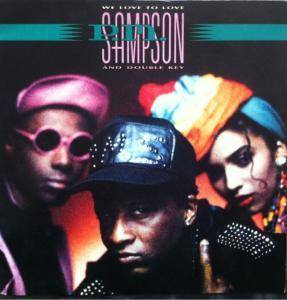 Cover - P.M. Sampson & Double Key: We Love To Love