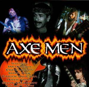 Cover - Rene Berg: Axe Men