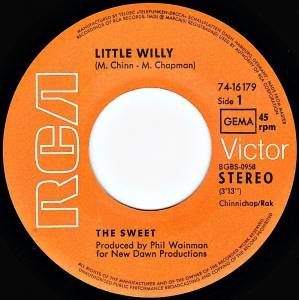 "The Sweet: Little Willy (7"") - Bild 2"