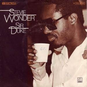 Stevie Wonder: Sir Duke - Cover