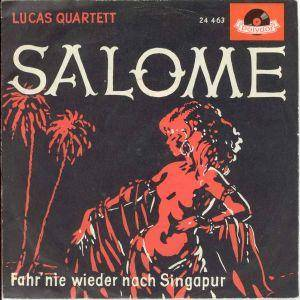 Cover - Lucas Quartett: Salome