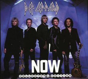 Def Leppard: Now - Cover