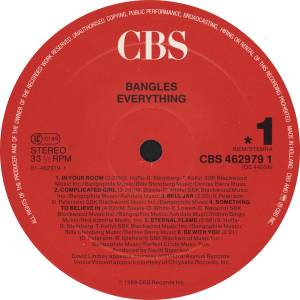 The Bangles: Everything (LP) - Bild 3