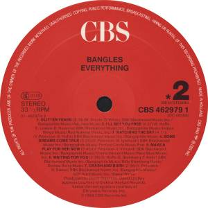 The Bangles: Everything (LP) - Bild 4