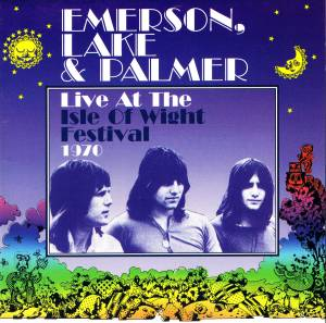 Emerson, Lake & Palmer: Live At The Isle Of Wight Festival 1970 - Cover
