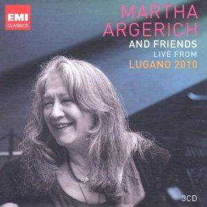 Martha Argerich And Friends - Live From Lugano 2010 - Cover