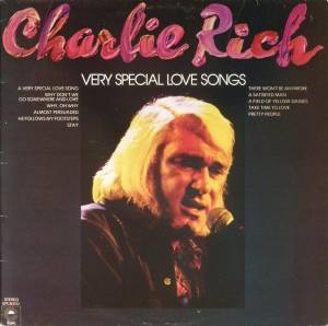Cover - Charlie Rich: Very Special Love Songs