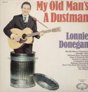 Cover - Lonnie Donegan: My Old Man's A Dustman