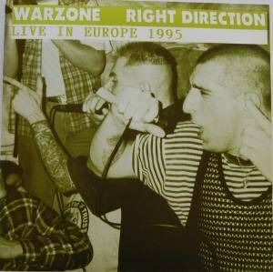 Cover - Warzone: Live In Europe 1995