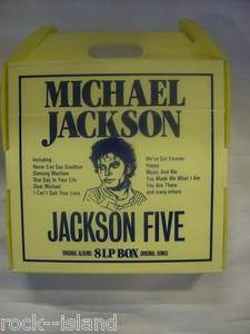 Cover - Michael Jackson & The Jackson Five: 8 LP Box