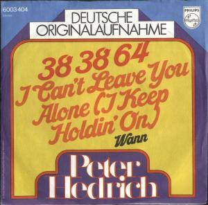 Cover - Peter Hedrich: 38 38 64