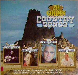 Cover - Carl Belew: 20 Golden Country Songs