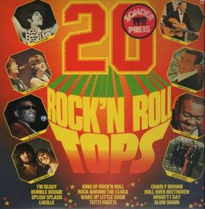20 Rock'n Roll Tops - Cover
