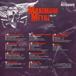 Metal Hammer - Maximum Metal Vol. 177 (CD) - Bild 2