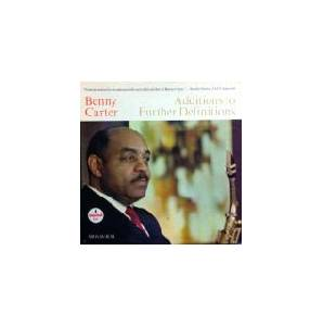 Cover - Benny Carter: Additions To Further Definitions