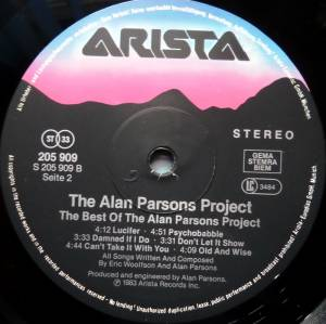 The Alan Parsons Project: The Best Of The Alan Parsons Project (LP) - Bild 4