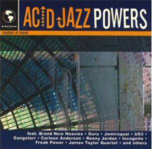 Cover - Raw Stylus: Acid Jazz Powers