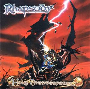 Cover - Rhapsody: Holy Thunderforce