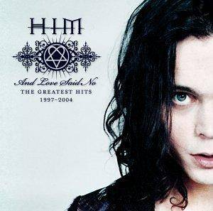 HIM: And Love Said No - The Greatest Hits 1997-2004 - Cover
