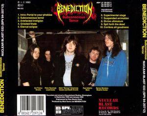 Benediction: Subconscious Terror (CD) - Bild 2