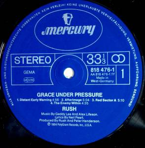 Rush: Grace Under Pressure (LP) - Bild 2