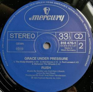 Rush: Grace Under Pressure (LP) - Bild 3