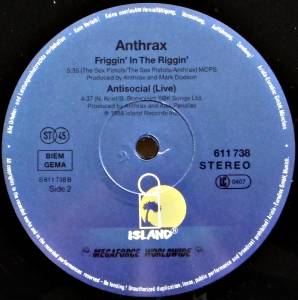 "Anthrax: Make Me Laugh (12"") - Bild 4"
