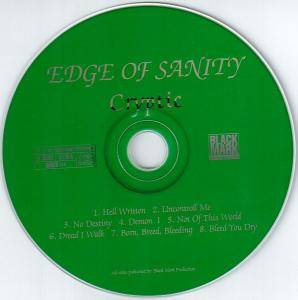 Edge Of Sanity: Cryptic (CD) - Bild 4
