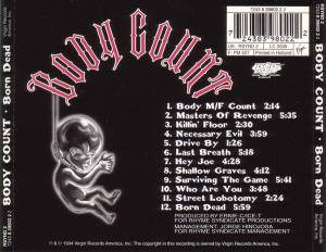 Body Count: Born Dead (CD) - Bild 3