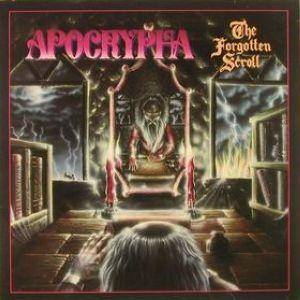 Apocrypha: Forgotten Scroll, The - Cover