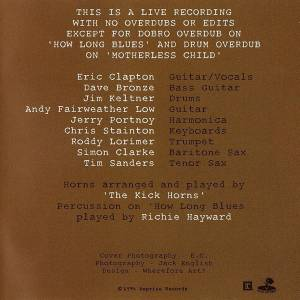 Eric Clapton: From The Cradle (CD) - Bild 4