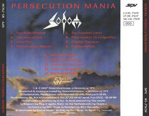 Sodom: Persecution Mania (CD) - Bild 2