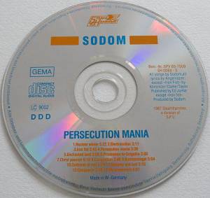 Sodom: Persecution Mania (CD) - Bild 4